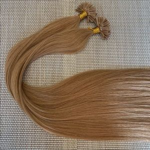 """Hair extensions Utip color 16 22"""" Remy"""